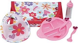 Adora Doll Accessories 6-Piece Feeding Set comes with Bib and Bottle for Children 2 years and up