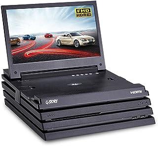 G-STORY 11.6インチ HDR IPSパネル フルHD 1080P 携帯型ゲームモニター ディスプレイ PS4Pro対応 Freesync機能 HDMIケーブル 内蔵ステレオスピーカー ACアダプター付き PSE認証済み