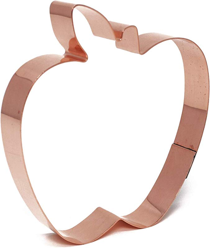 Apple Cookie Cutter By The Fussy Pup Large