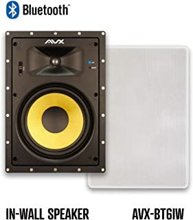 "Bluetooth in-Wall Speaker Pair - 6.5"" by AVX Audio (6.5"" Bluetooth in-Wall Speaker Pair)"