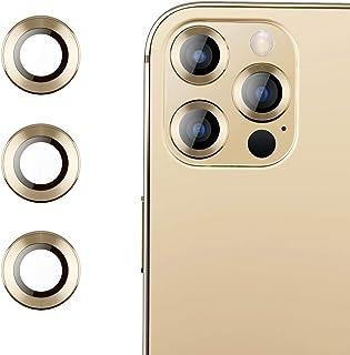 RIWNNI Pellicola Fotocamera Compatibile con iPhone 12 Pro [2 Pezzi], Alta Definizione Lente Fotocamera Pellicola Protettiv...