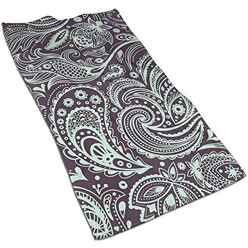 Hermosas toallas de baño florales vintage - Toallas de