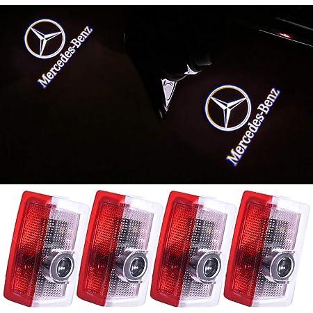 Znystar Car Lampe Der Lampe Der Tür Ghost Shadow Willkommen Licht Einstiegsbeleuchtung Türbeleuchtung Benz 2 Auto