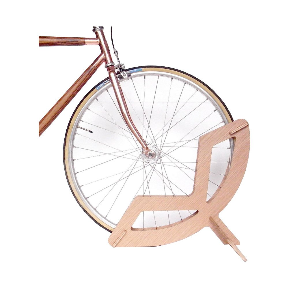 Colect QO - Soporte de Madera para Ruedas de Bicicleta, Soporte de Almacenamiento para Suelo de Bicicleta, para Bicicletas DE 20 a 28 Pulgadas: Amazon.es: Hogar