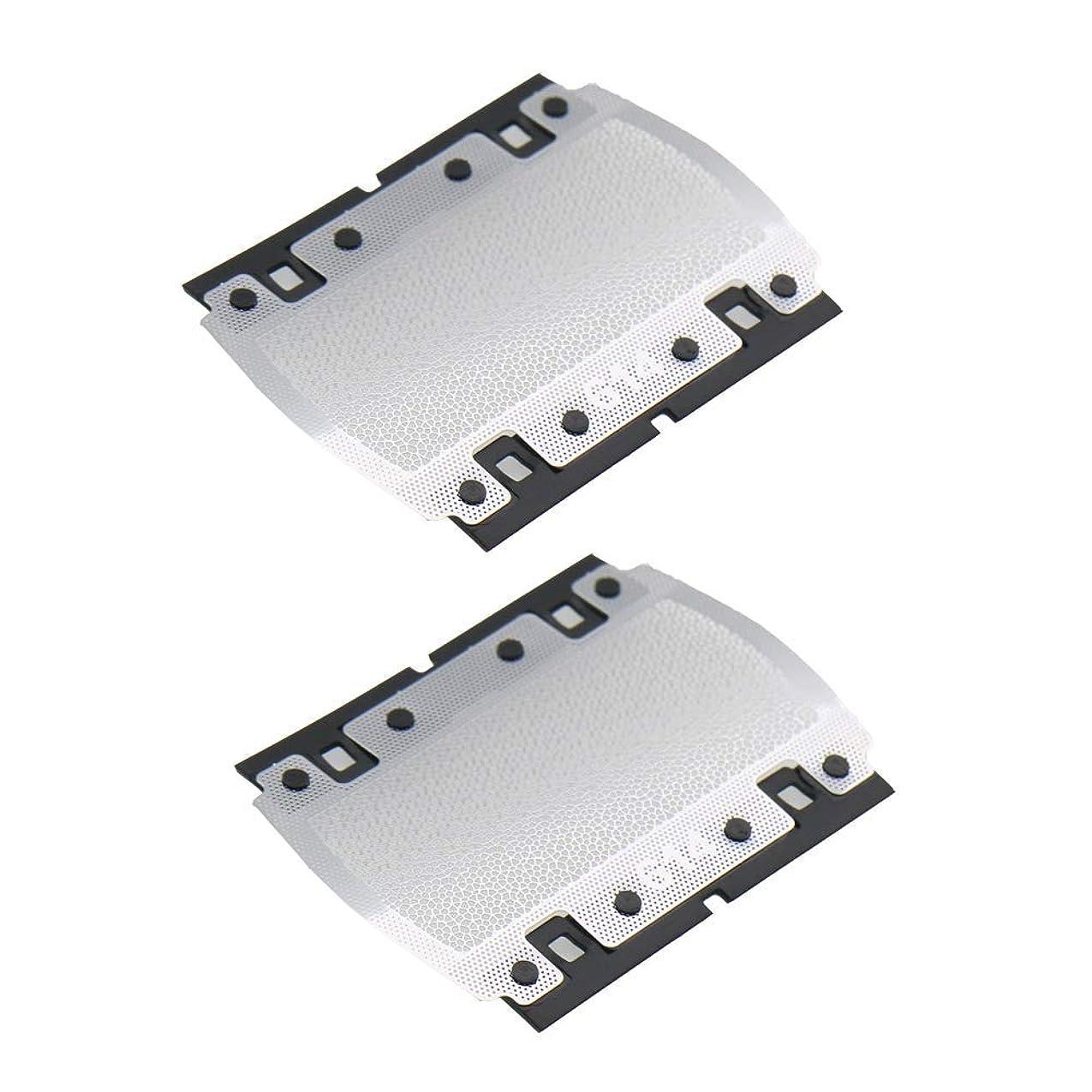 パブ竜巻間隔VWONST 614 Shaver Foil Screen For Braun PocketGo Pocket Twist E-Razor 614 350 355 370 375 5614 5615 P10 Shaver Razor Head Replacement Mesh Grid Net (2)