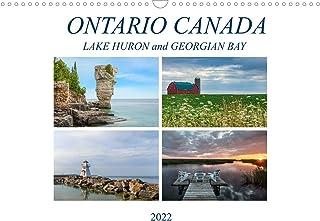 Ontario Canada, Lake Huron and Georgian Bay (Wall Calendar 2022 DIN A3 Landscape)