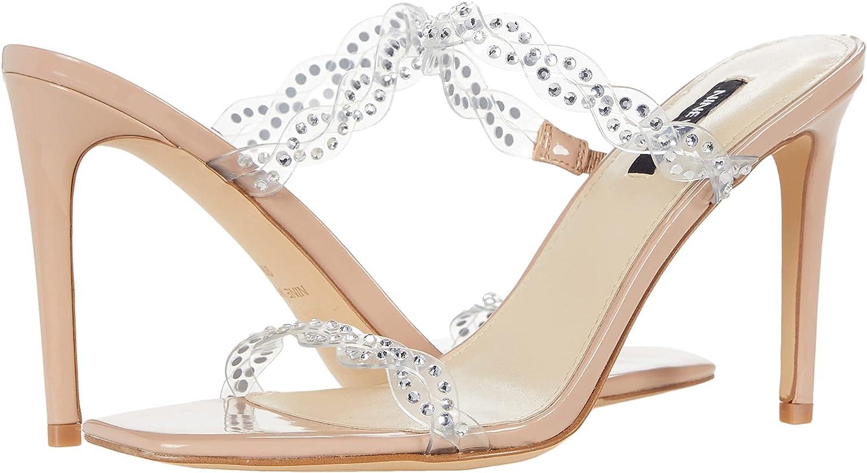 NINE WEST Women's Ziggle3 Heeled Sandal