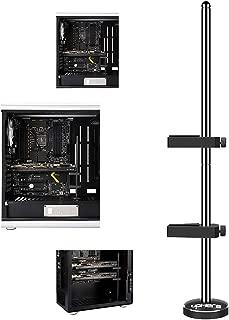 upHere Graphics Card GPU Brace Support Video Card Sag Holder/Holster Bracket, Anodized Aerospace Aluminum, Single or Dual Slot Cards Black (G205)