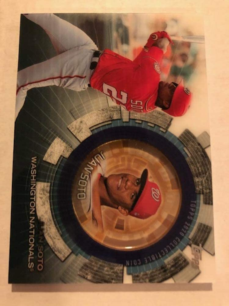 2020 Topps Update Ranking TOP13 Series Detroit Mall 3 #TBC-JS Coin Baseball Cards