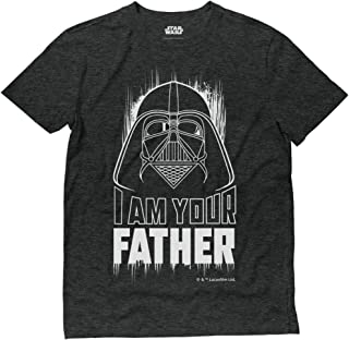 Official Star Wars Dad Shirt I Am Your Father Darth Vader T-Shirt
