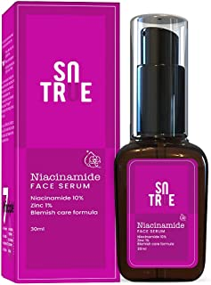Sotrue 10% Niacinamide Face Serum with Zinc, 30ml| For Acne Clear Skin| Reduces Dark Spots| Clean & Brighter Skin|Zero Toxin