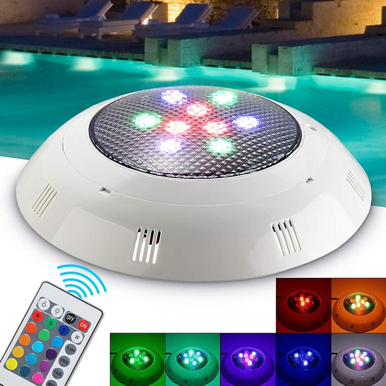 ZHENWOFC 9W RGB-LED-Swimmingpool-Unterwasserlicht-wasserdichtes Nachtlicht Atmostphere-Licht Innenlicht B07N515WKK     | Spezielle Funktion