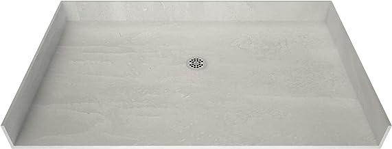 """Tile Redi USA P3163CBF-PVC Redi Free Shower Pan, 31"""" D x 63"""" W, Black"""