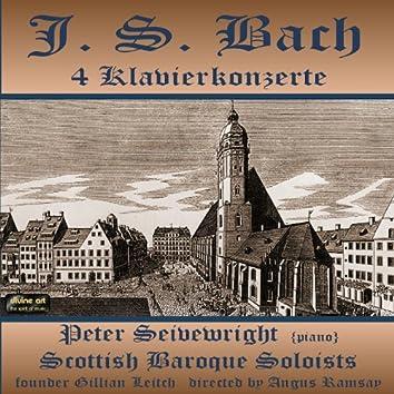Bach: 4 Klavierkonzerte