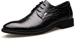 [Flova] ビジネスシューズ レースアップシューズ ストレートチップ 営業マン フォーマル 紳士靴 ブラック/ブラウン 24-27cm
