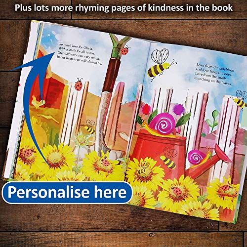 1st Birthday Gift, Personalized Bedtime Story Book for Young Children, All About Kindness, Include the Whole Family