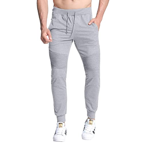 designer fashion 027ac 56222 MODCHOK Men s Jogger Sweatpants Running Active Pants Gym Workout Sports  Trousers Slim Fit Trackpant