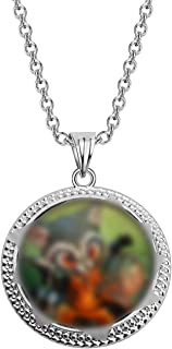 SEIRA Guardians of The Galaxy Inspired Groot and Rocket Necklace for BFF Fans