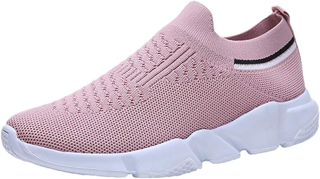 Hengshikeji Women's Outdoor Mesh Slip-On Shoes Sports Sales Breathable