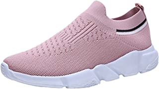 Cebbay Baskets Femme Sneakers, Chaussures Plein air Respirant,Sports Courir Shoes 36-41