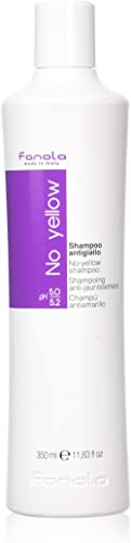 Fanola No Yellow Shampoo Ideal For Grey Superlightened Or Decoloured Hair, 350ml product image