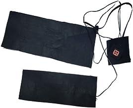 Nishore Almofada de aquecimento elétrico com 3 configurações de temperatura Almofadas aquecidas USB Aquecedor de roupas Aq...