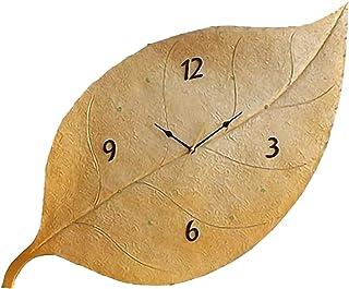 European Retro Decorative Wall Clock, Digital Wall Clock, Silent Non-Ticking Decorative Battery Operated Wall Clock, for O...