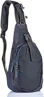 LC Prime Sling Bag Chest Shoulder Unbalance Backpack Sack Satchel Outdoor Bike