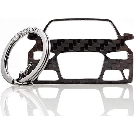 Blackstuff Carbon Karbonfaser Schlüsselanhänger Kompatibel Mit A4 S4 Rs4 B8 8k Facelift 2012 2016 Bs 139 Bekleidung