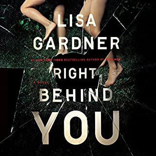 Right Behind You audiobook cover art