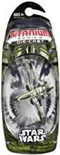 Titanium Series Star Wars 3 Inch Vehicles GREEN Arc-170 Starfighter