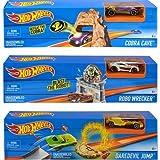 Hot Wheels - Mega rampa de Salto, Exclusivo 1 (Mattel DNN78)