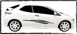 DD Dotzler Design   Autodekor Aufkleber   Motiv 1005_6   Breite 110 cm   1x Linke Seite 1x rechte Seite