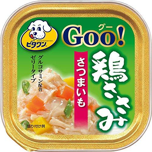 ビタワングー 鶏ささみ さつまいも 100g×24個(ケース販売)