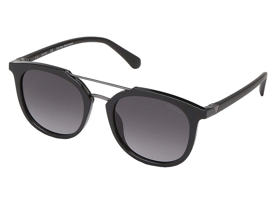 GUESS GU6915 (Shiny Black/Gradient Smoke) Fashion Sunglasses
