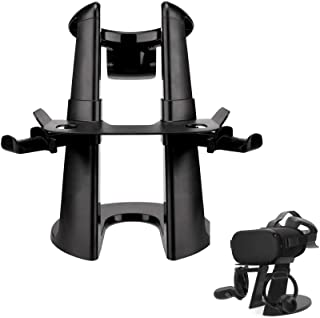 LICHIFIT AMVR VR Stand Headset Display Holder Controller Mount Station para Oculus Rift S / Oculus Quest Virtual Reality Headset y Touch Controllers Organizer