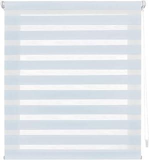 comprar comparacion Blindecor Indus - Sin Herramientas, Estor enrollable de doble capa, Noche y Día, color Azul (Celeste), 140 X 180 cm (ancho...