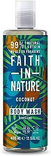 Faith In Nature Vegan Kokosnöt Kroppstvätt, 400 ml