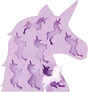 WHAT ON EARTH - Unicorn Ice Cube Tray - Soft Silicone - 9.25