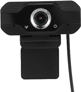 كاميرا كمبيوتر محمول USB ويب كام 1080 بكسل عالية الدقة 30 إطار في الثانية مع ميكروفون لمؤتمرات الفيديو مباشرة متوافق مع وي...