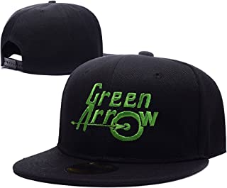 DEBANG Green Arrow Hero Logo Embroidery Hat Snapback Baseball Cap Beanie