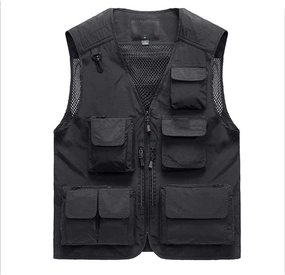 Fishing Vests for Men Discount is also Max 90% OFF underway Multi-Pocket Vest Photography