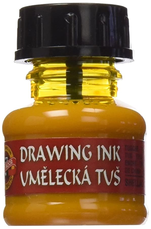 KOH-I-NOOR Artist's Drawing Ink - Gold Yellow