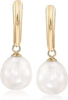 Best pearl drop gold earrings Reviews