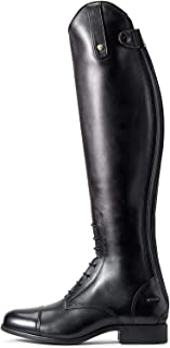 ARIAT Women's Heritage Contour Ii Field Zip Tall Riding Boot Black