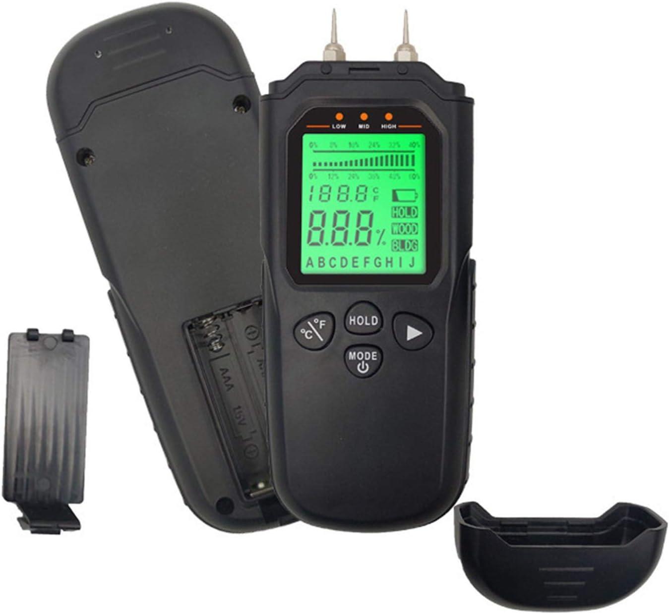 GAOZ Moisture Dedication Meter Max 41% OFF Detects MT1903-Professional Te Wood