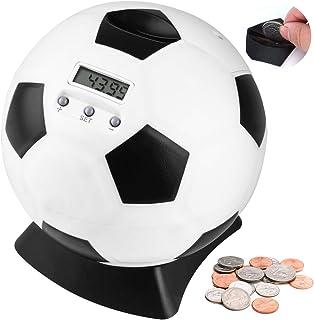 LarmTek Tirelire pour Enfants,Tirelire numérique avec LCD Automatique pour économiser de l'argent et décor,comptoir Tireli...