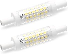 R7S LED-lamp 78 mm 5 W dubbelzijdige lineaire reflectorlamp Azhien, daglichtwit 6000 K 5 Watt niet dimbaar, equivalent aan...