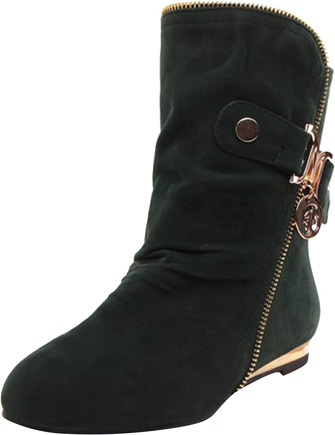 Ranking TOP1 Show Shine Women's Short Flats Recommendation Boots