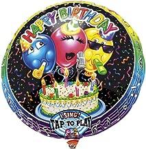 "Anagram International 1303701 Happy Birthday S-A-T Balloon, 28"""